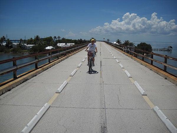 South Florida bike trails: The Old Seven Mile Bridge