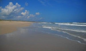 Secret beach: Hobe Sound NWR seascape