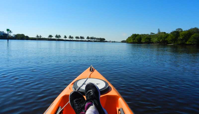 Everglades City  kayaking Barron River 
