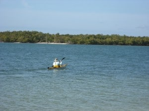 Warren heads out to explore Hog Key