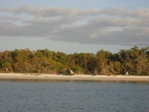 The beach at Panther Key