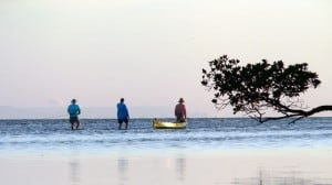 Fishing in Tampa Bay at E.G. Simmons County Park