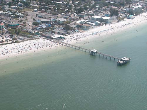 The pier at Fort Myers Beach
