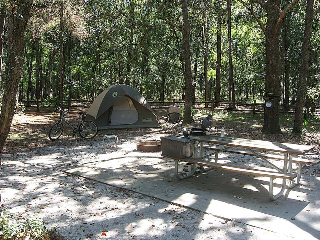 Cool Camping Near Orlando Kelly Park And Rock Spring